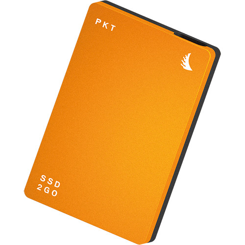 Angelbird 1TB SSD2go PKT USB 3.1 Type-C External Solid State Drive (Orange)