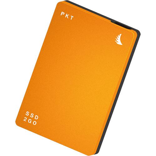 Angelbird 2TB SSD2go PKT USB 3.1 Type-C External Solid State Drive (Orange)