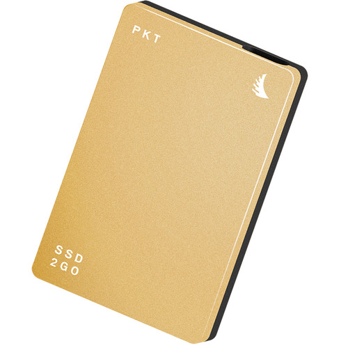 Angelbird 256GB SSD2go PKT USB 3.1 Type-C External Solid State Drive (Gold)