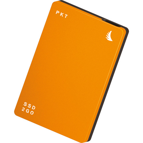 Angelbird 256GB SSD2go PKT USB 3.1 Type-C External Solid State Drive (Orange)