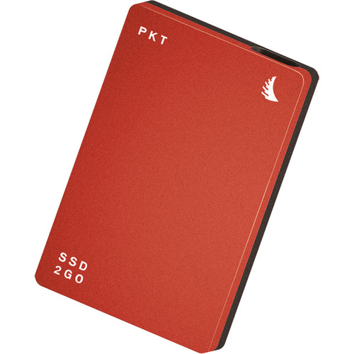 Angelbird 512GB SSD2go PKT USB 3.1 Gen 2 Type-C External Solid State Drive (Red)