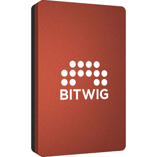 Angelbird 512GB SSD2go PKT BITWIG USB 3.1 Gen 2 Type-C External Solid State Drive (Red)