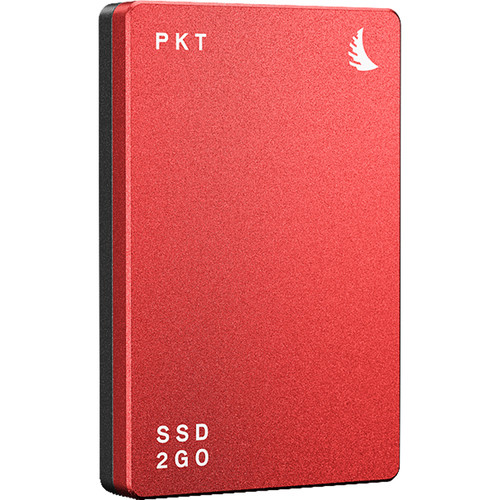 Angelbird 512GB SSD2GO PKT MK2 External SSD (Red)