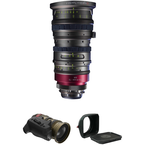 Angenieux EZ-1 30-90mm S35 Cinema Zoom with Advanced Kit 1