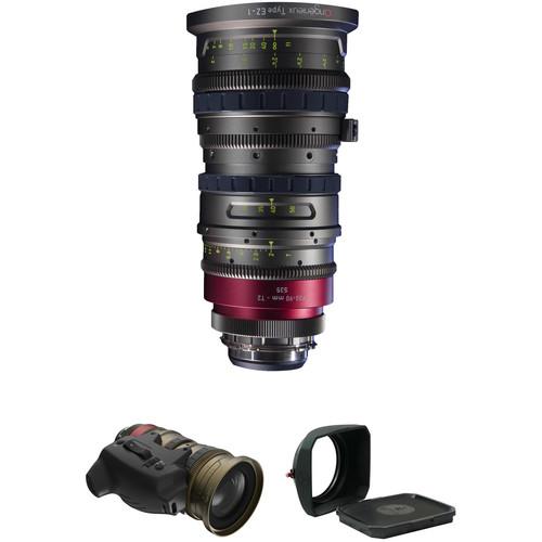 Angenieux EZ-1 30-90mm S35 Cinema Zoom with Basic Kit 1 (PL)