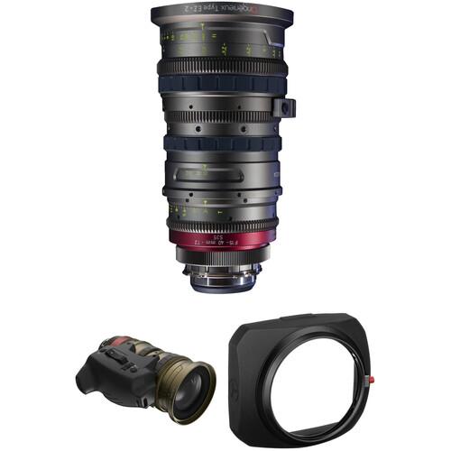 Angenieux EZ-2 15-40mm S35 Cinema Zoom with Basic Kit 2 (PL)