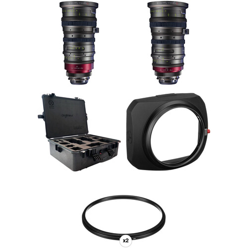 Angenieux EZ-1 30 to 90mm/EZ-2 15 to 40mm Zoom Lens Kit with ENG-Style Control and Hard Case