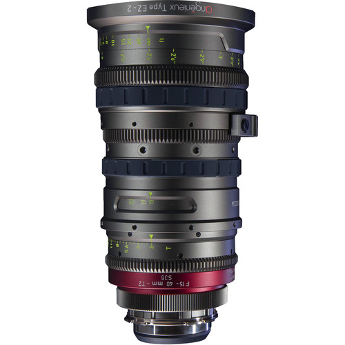 Angenieux EZ-2 15-40mm S35 Cinema Lens with PL Mount