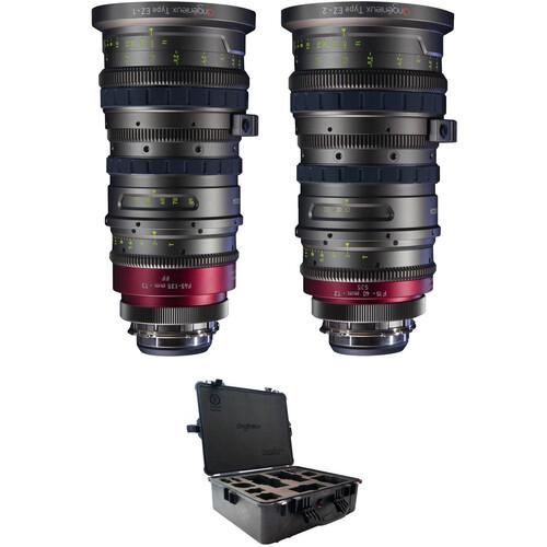 Angenieux Full Frame & Super 35 EZ-1 & EZ-2 Lens Kit with Case