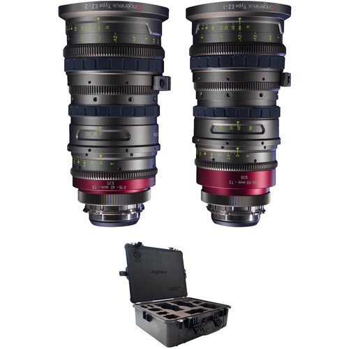 Angenieux Super 35 EZ-1 & EZ-2 PL Lens Kit with Hard Case
