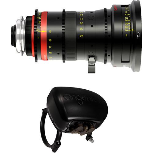 Angenieux Optimo 15-40mm Lightweight Wide-Angle Zoom Lens with ASU Servo Unit