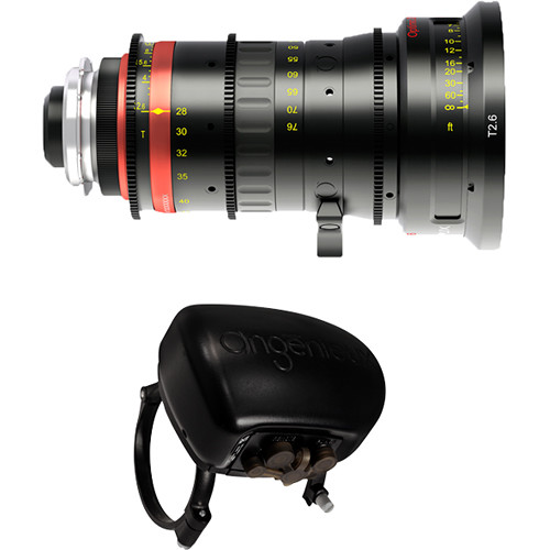 Angenieux Optimo 28-76mm Lightweight Wide-Angle Zoom Lens with ASU Servo Unit