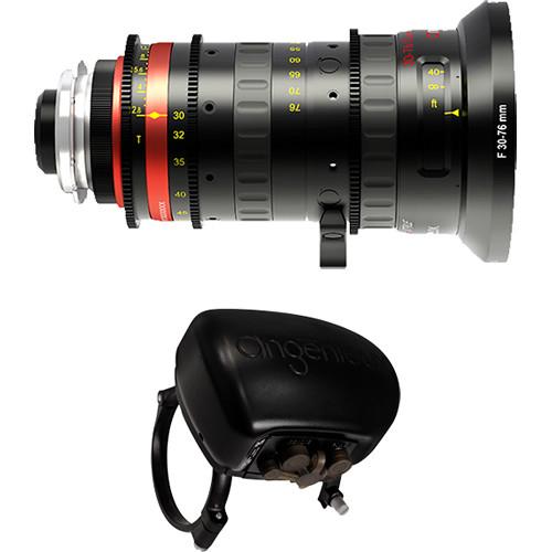 Angenieux Optimo Style 30-76mm Wide-Angle Zoom Lens with ASU Servo Unit