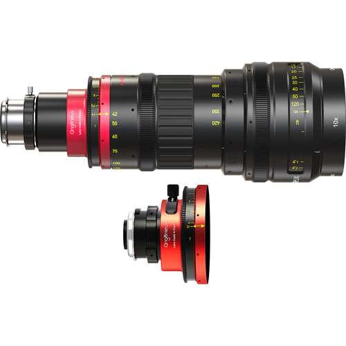 Angenieux Optimo Anamorphic 42-420mm A2S Zoom Lens with Spherical Kit (PL, Feet)
