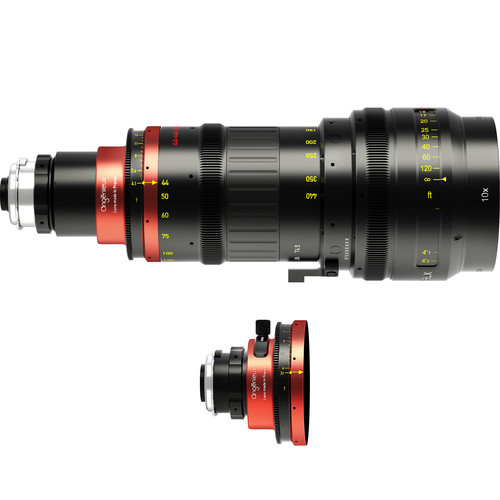 Angenieux Optimo Anamorphic 44-440mm Zoom Lens with Spherical Kit (PL, Feet)