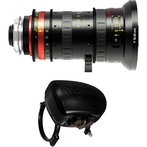 Angenieux Optimo Style 16-40mm Wide-Angle Zoom Lens with ASU Servo Unit