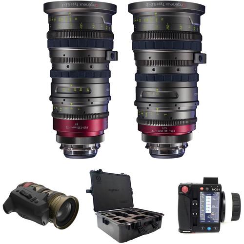 Angenieux Super 35 EZ-1 & EZ-2 Lens Kit with Servo, Movcam MCS-1 Control & Case