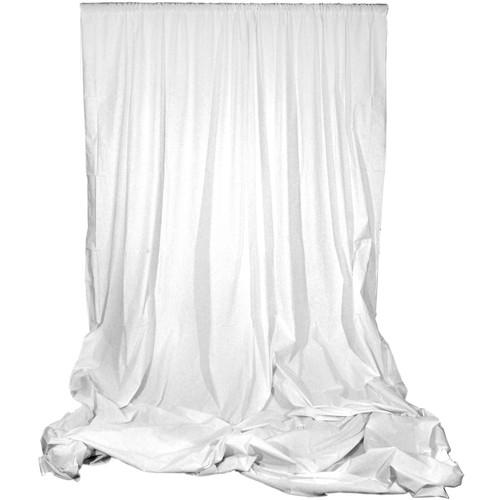 Angler Muslin Background (White, 10 x 24')