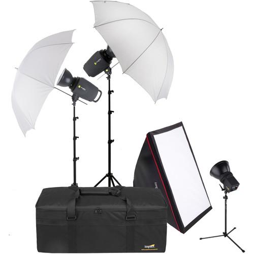Angler 3-Monolight Portrait Back Light Kit with Case