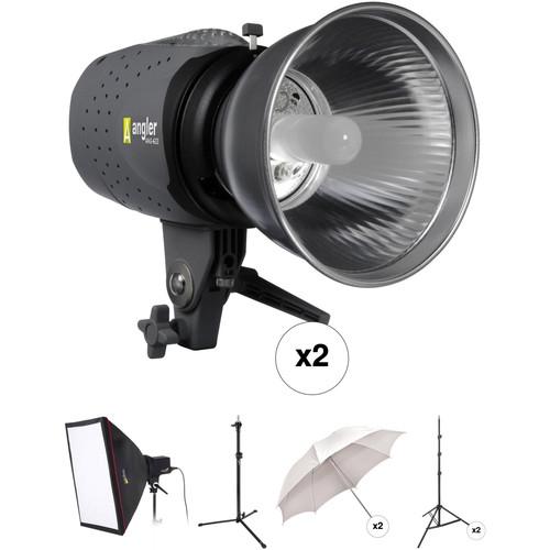 Angler 3-Monolight Portrait Backlight Kit
