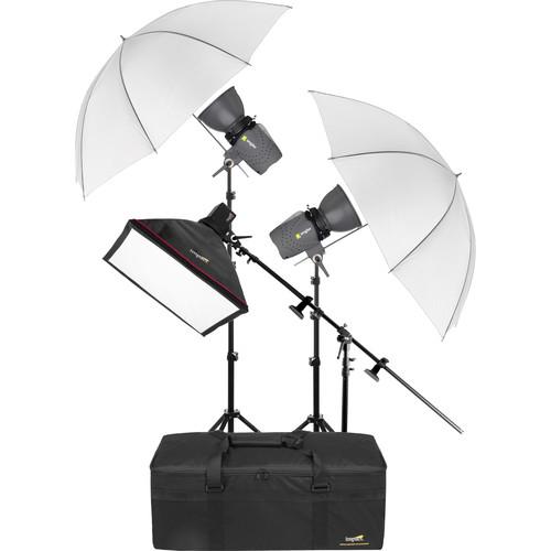 Angler 3-Monolight Portrait Boom Kit with Case