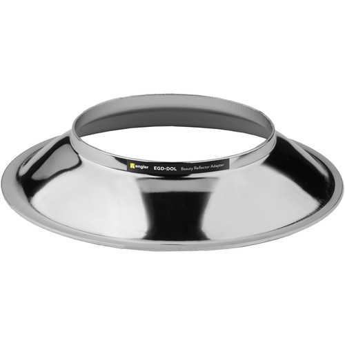 Angler Beauty Dish Adapter for Paul C. Buff, Balcar, and Flashpoint Series 1 Flash Heads
