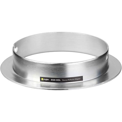 Angler Beauty Dish Adapter for Elinchrom, Impact EX, Calumet Genesis, Interfit EX Flash Heads