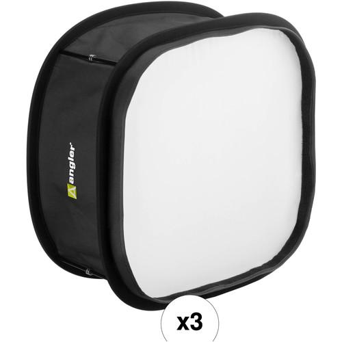 Angler LED Collapsing 3-Softbox Kit
