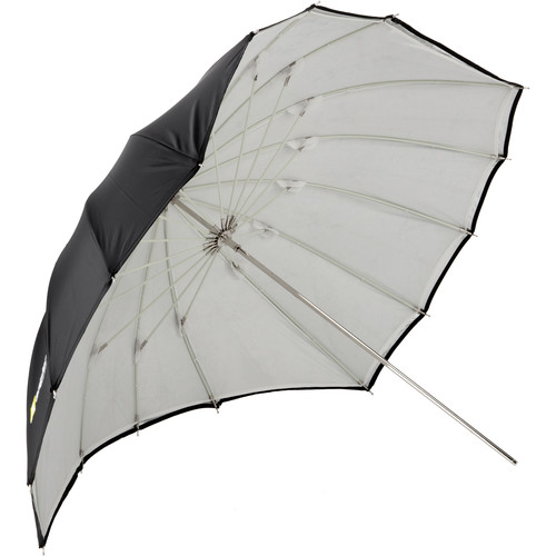 "Angler ParaSail Parabolic Umbrella (White with Removable Black/Silver, 45"")"