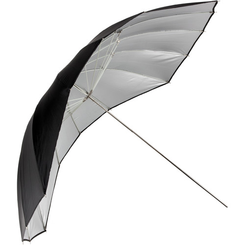 "Angler ParaSail Parabolic Umbrella (White with Removable Black/Silver, 60"")"