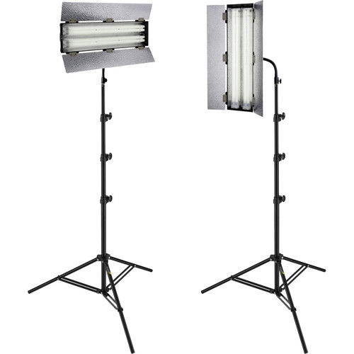 Angler Steady Cool 2-Lamp Fluorescent Fixture 2-Light Kit