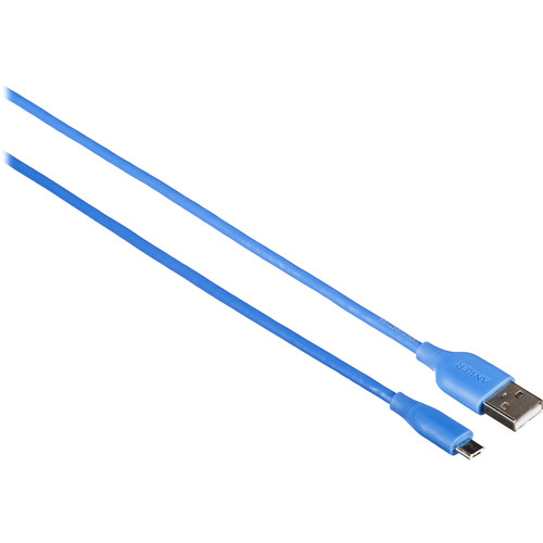 ANKER PowerLine Micro-USB Cable (3', Blue)