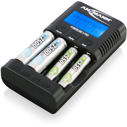 Ansmann Powerline 4 Pro Charger and MaxE PRO AA Battery Kit