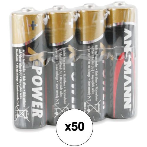 Ansmann X-Power AA Alkaline Batteries (200-Pack)