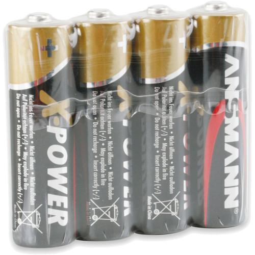 Ansmann X-Power AA Alkaline Batteries (4-Pack)