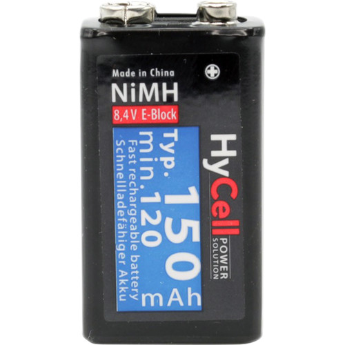 Ansmann 9V-Block E Typ Rechargeable NiMH Battery (150mAh)