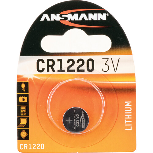 Ansmann CR1220 3V Lithium Battery