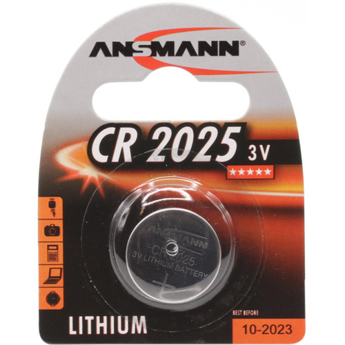 Ansmann CR2025 3V Lithium Battery