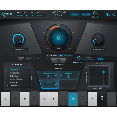 Antares Audio Technologies Auto-Tune EFX+ Vocal Effects Software (Download)