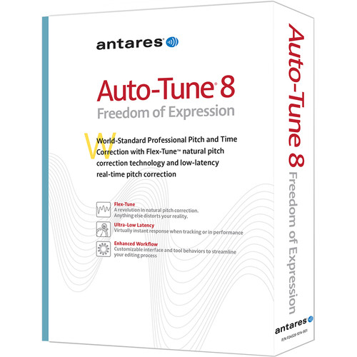 Antares Audio Technologies Auto-Tune 8 - Professional Pitch and Time Correction Plug-In (Download)