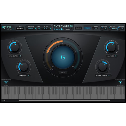 Antares Audio Technologies Auto-Tune Pro Vocal Pitch and Time Correction Plug-In (Download)