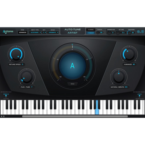 Antares Audio Technologies Auto-Tune Artist Low-Latency Pitch-Correction and Effects (Download)