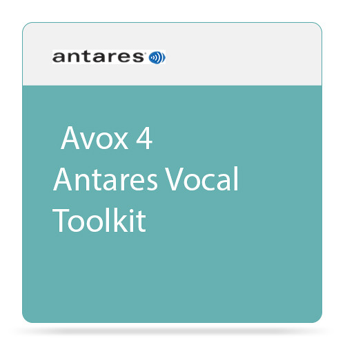 Antares Audio Technologies Avox 4 Vocal Toolkit Plug-In Bundle (Download)