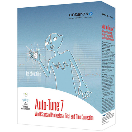 Antares Audio Technologies Auto-Tune Vocal Studio TDM/RTAS - Auto-Tune 7 + AVOX 4 Vocal Tool Kit (Download)
