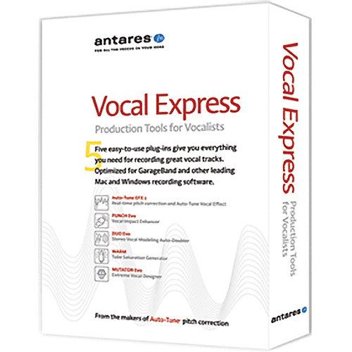 Antares Audio Technologies Vocal Express Production Tools Collection