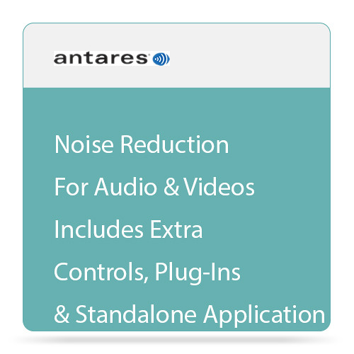 Antares Audio Technologies SoundSoap+ 5 Audio Restoration and Noise Reduction Software (Download)
