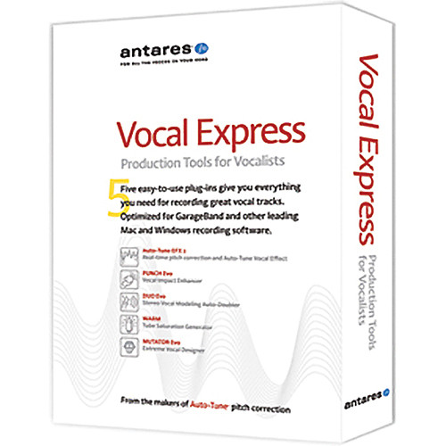 Antares Audio Technologies Vocal Express Production Tool Bundle For Vocalists