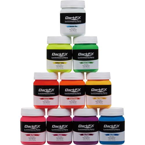Antari 6oz UV Paint (Variety 10-Pack)