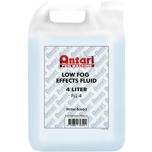 Antari FLL-4 Low Fog Effects Fluid for Antari Fog Machines (1 Gallon, Blue Formula)