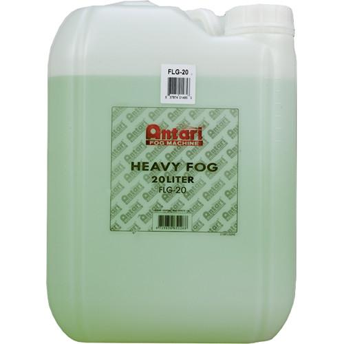 Antari FLG-20 Long-Lasting Fog Fluid for Antari Fog Machines (5.3 Gallons, Green Formula)